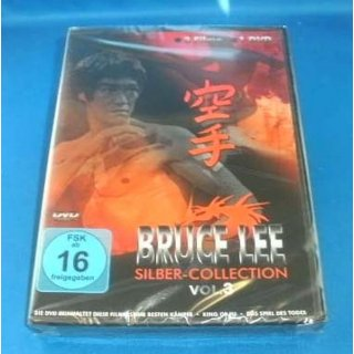 Bruce Lee - Silber Collection Vol. 3.  FSK 16 DVD